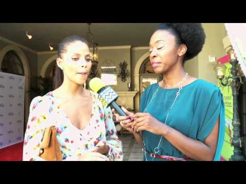 Denise Vasi Interview | Emmy's Gift Suites | Softcup Beauty Retreat | AfterBuzzTV