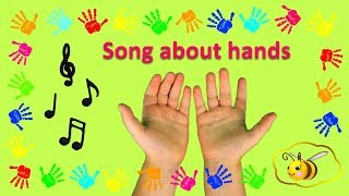 Songs for kids children toddlers: song about hands teaching good manners to children