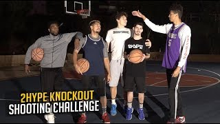 2HYPE KNOCKOUT BASKETBALL GAME!