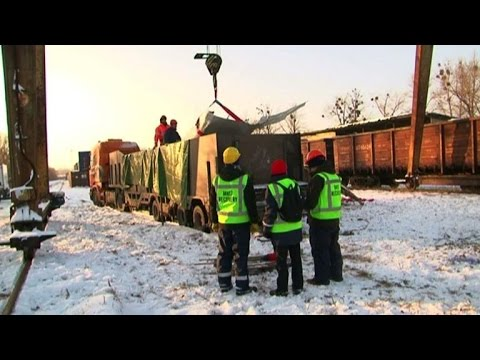 MH17 jet wreckage ready for transport to Netherlands