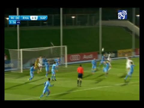 GOLES: Juvenil A 2-1 Nápoles   UEFA Youth League