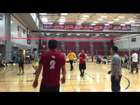 Free Agent vs KO final part 2 La Crosse Hmong Volleyball