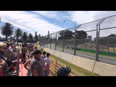 Melbourne Formula 1 practice 2015