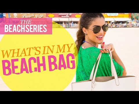 What's in My Beach Bag: Beach Series