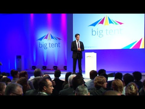 Ed Miliband's speech to Google Big Tent