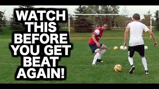 How to defend in soccer football ► How to play defence ► How to be a good a defender in soccer