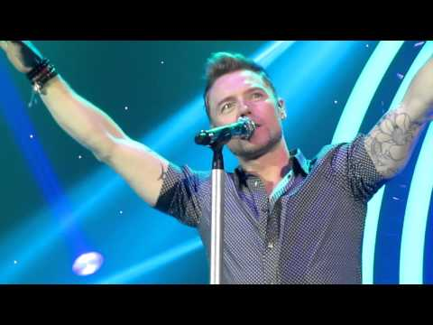 Ronan Keating - When You Say Nothing/Life Is A Rollercoaster live at Birmingham's LG Arena 25/1/13
