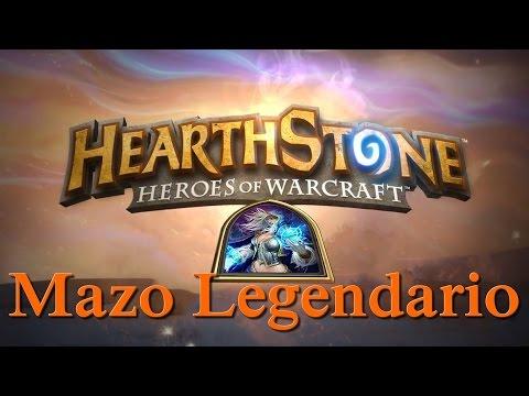 Mazo Legendario. 30 cartas legendarias de Hearthstone.