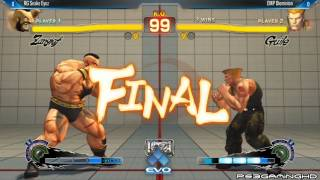 USFIV EVO 2014: SNAKE EYEZ (Zangief) vs DIEMINION (Guile) Top 32
