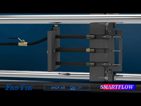 SMARTFLOW FasTie – Captive Molder Application, Couplers at the End of Ejector Bars