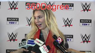 WWE star Charlotte Flair shares how she is able to put smiles on kids faces via WWE