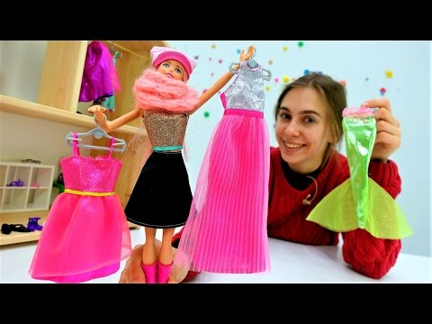 Игры для девочек: #СУПЕР SHOPPING(шоппинг) для #Барби. Видео про #одевалки для девочек