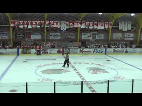 Highlights of the Brockville Tikis Junior Hockey Club Home Opener vs.The Prescott Flyers.