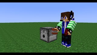 Minecraft - How to make a Rapid Fire TNT Cannon in Minecraft