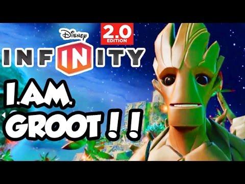 Disney Infinity 2.0 - Toy Box Share - I AM GROOT!!
