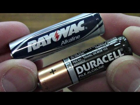 How To Test Any Alkaline Battery Without Multi Meter