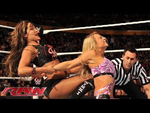Emma vs. Nikki Bella: Raw, Nov. 3, 2014