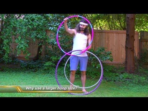 Beginner Hula Hoop Tricks Vol. 1: Best Beginner Hula Hoop Size, Weight, Etc. video