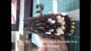 3d Origami Batman Style