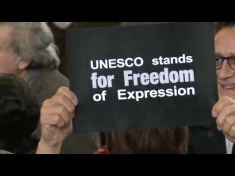 Charlie Hebdo Attack: UNESCO stands for Freedom of Expression