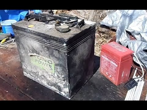 DIY Revive Golf Cart Battery Trojan T-105