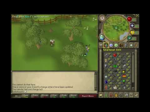 [Runescape] 1-99 Woodcutting Guide~P2P and F2P~With Commentary