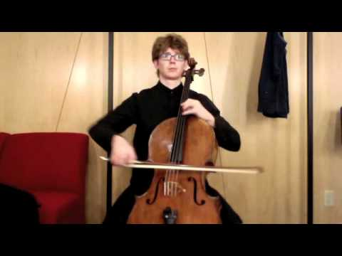 POPPER PROJECT #32: Joshua Roman plays Etude no. 32 for cello by David Popper
