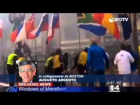 Icaro Tv. Attentato alla maratona di Boston, testimonianza riminese
