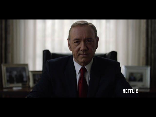 하우스 오브 카드 시즌 4 - 티저 예고편 - Frank Underwood - The Leader We Deserve (한글자막)