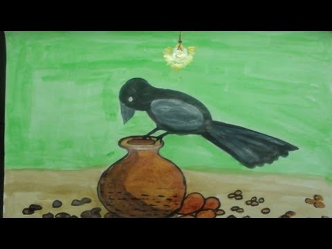 The Thirsty Crow Story For Kids video