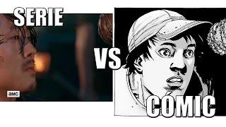 Muerte de Glenn| The Walking Dead - Serie vs Cómic