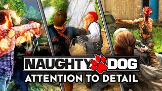Attention to Detail in Naughty Dog Games (2013 - 2020)