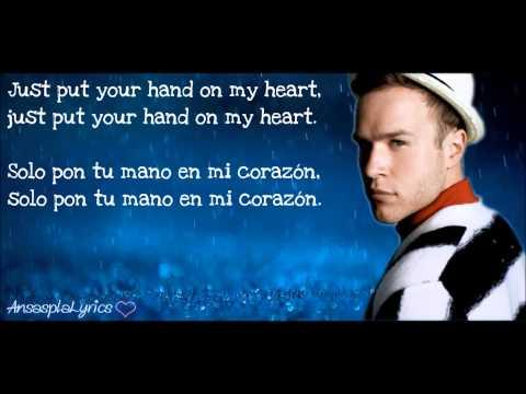 Olly Murs- Hand On Heart (traducción) [inglés- Español] video