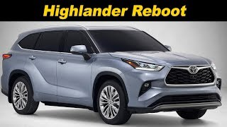 2020 Toyota Highlander First Look
