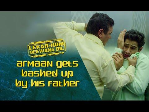 Armaan Gets Bashed Up By His Father | Lekar Hum Deewana Dil | Armaan Jain & Deeksha Seth