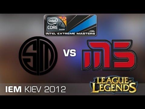 IEM Kiev League of Legends - Grand Final: Team SoloMid vs. Moscow Five