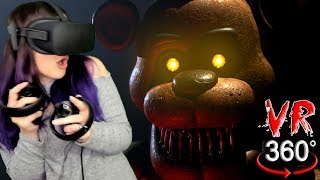 Five Nights at Freddy's in VR?! | FNAF 360 Reaction