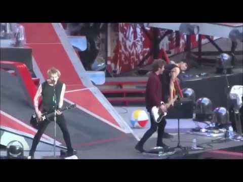 5 Seconds of Summer - opening for One Direction on wwa tour at Wembley London