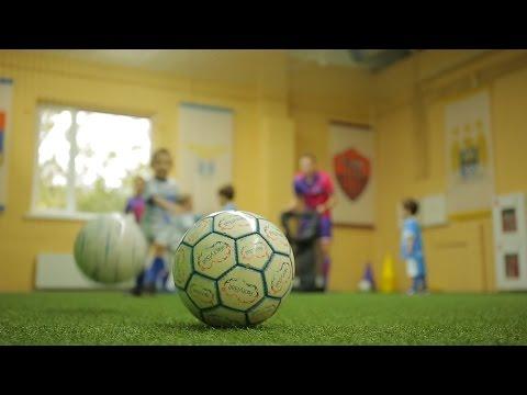 Дети. Футбол. Тренировка. Чемпионы в перово.
