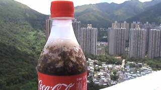 How to Chill A Coke In just a second!!