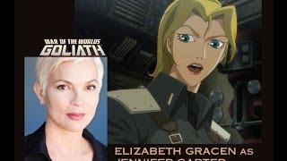 Hello from Elizabeth Gracen (War of the Worlds: Goliath)