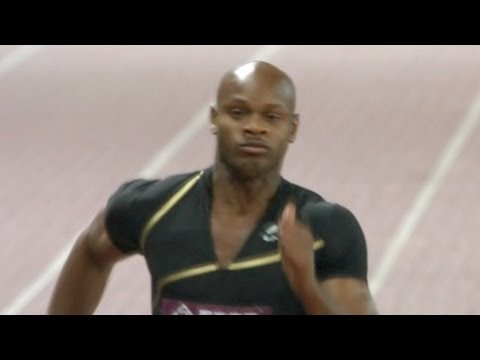 Asafa Powell gets 100m win at Shanghai Diamond League 2012