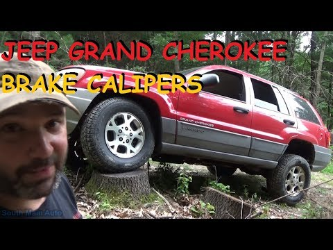 Jeep Grand Cherokee - Front Brake Calipers
