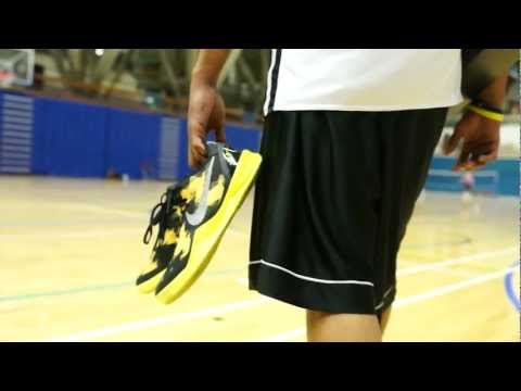 Nike Zoom Kobe 8 System - Wear Test Review - London Lions - Perry Lawson