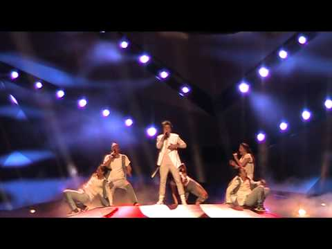 2nd rehearsal Sweden: Robin Stjernberg - YOU (Eurovision Songcontest 2013)