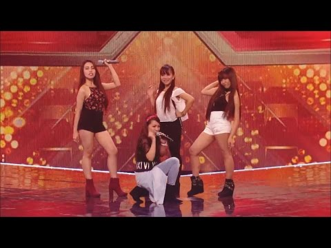 4th Impact's rendition of Show Me How You Burlesque at X Factor UK
