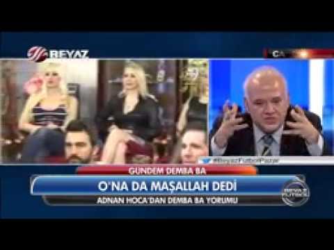 Ahmet Çakar 'Bu kızların dudakları niye şişik'   29 12 2014 beyaz futbol