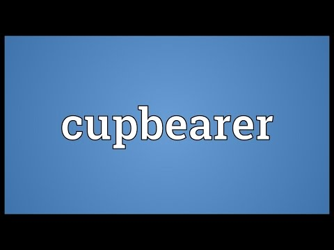 Header of cupbearer