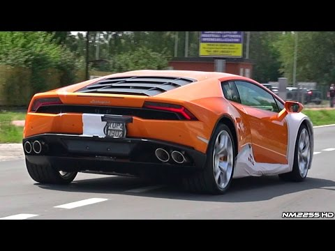 Lamborghini Huracán Start Up and Accelerations Sound - 13 of them!