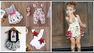 baby girl romper dress=kids fashion wear=toddler girl rompers clothing 2018
